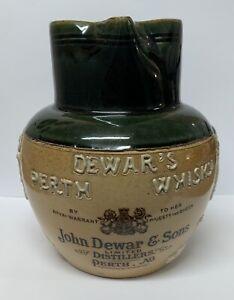 Vintage Royal Doulton Lambeth John Dewar & Sons Distillers Perth, NB Whisky Jug