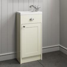 400mm Bathroom Vanity Unit Basin Storage Cabinet Furniture Ivory Traditional