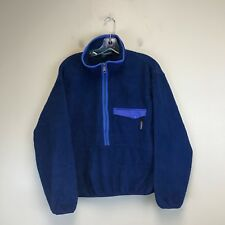 Men's Patagonia 1/4 Zip Pullover Blue - Tag Size: M - #538