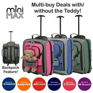 MiniMAX Childrens/Kids Backpack Cabin Luggage Small Light Travel Bag Rucksack