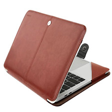 "MacBook Pro 15"" 2019/16 Luxury Leather Sleeve Case Cover Touch Bar A1990 A1707"
