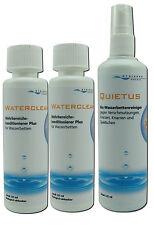 Wasserbetten Konditionierer 2x Conditioner + Quietus Bio Vinylreiniger 3x 125ml