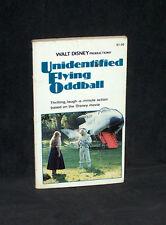 Unidentified Flying Oddball - Walt Disney movie - 1979 Scholastic paperback