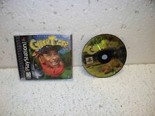 CyberTiger PS1 Sony PlayStation 1 Video Game RARE Golf Tiger Woods