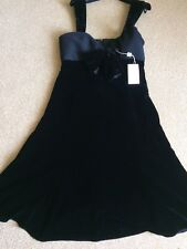 New Armani Ladies Dress WithTag Authentic Size46(USA12)Black.Made In Italy.