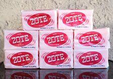 8 PCS PINK ZOTE Laundry Bar Soap 14.1 OZ 400g EACH