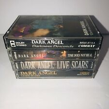 Dark Angel Cassette Lot of 4 Cassettes - Leave Scars,Time Does Not Heal, Etc