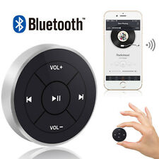 Wireless Bluetooth Media Remote Control Button Car Steering Wheel Bike Handbar