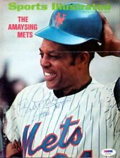 Willie Mays Autographed Signed Sports Illustrated Cover Giants PSA/DNA G23095