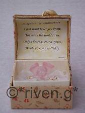 GRANDMOTHER GIFT@Cute ROSES Bouquet Box@22ct Gold@Gran Present@LOVE Nana Verse