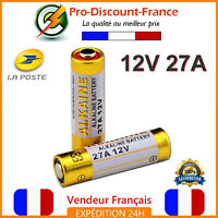 Lot Pile 12V 27A L828 27AE 27MN A27 ALCALINE Télécommande Alarme X1 X2 Piles