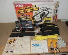TYCO MAGNUM 440 PRO RACING SLOT CAR SET COMPLETE 1981