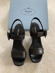 Prada Women Shoes Wedge 38