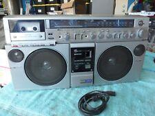 Vintage Japan AIWA CS - J77 Stereo Radio Cassette Recorder Boombox w/ DSL System