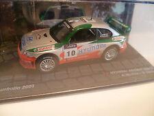 HYUNDAI ACCENT WRC2 N°10 A.MC RAE : RALLYE D'AUSTRALIE de 2001 ~  NEUF