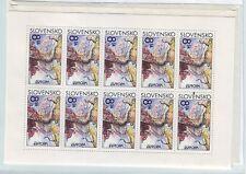 Slovakia Sc 213 NH Minisheet of 1995 - Europa