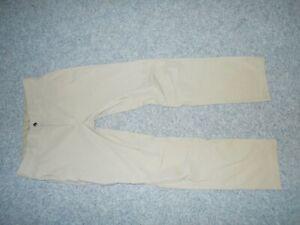 COLUMBIA AM8678 ROYCE PEAK MENS 34/32 CLASSIC TAN HIKING PANTS