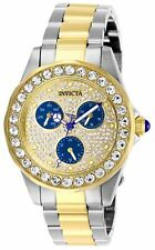 Invicta Women's Angel 28460 38mm Blue Dial Stainless Steel Watch