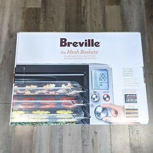 BREVILLE the Mesh Baskets Smart Oven Air Fryer Dehydrator BOV900 Set of 3 w/ box