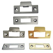 Strike and Face Plates for Doors Tubular and Mortice Latch Premium UK Quality