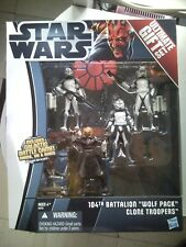 Star Wars Clone Wars - 3.75 inch - 104th Battalion Wolf Pack Clone Troopers