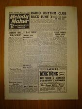 MELODY MAKER 1943 #512 JAZZ SWING HENRY HALL HAVANA
