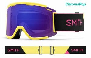 Smith Optics Squad XL MTB Bike Citron - Black ChromaPop Everyday Violet Anti-Fog