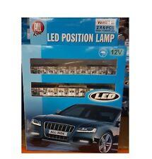 Nuevo All Ride 12V posición Lámpara 2x 6PCS Alta potencia LED luces blanco