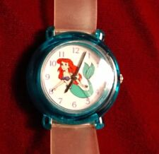 LITTLE MERMAID WATCH DISNEY STORE VINTAGE gently WORN protect sheets intact