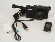 Nikon Coolpix A DX Digital Camera w/ 18.5mm Lens 2.8 - Black