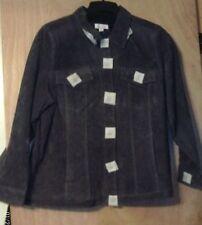 e1e989c8ae9e7 Suede Solid Plus Size Coats   Jackets for Women
