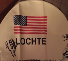 Ryan Lochte USA OLYMPIC SWIMMER Signed USA Speedo Autographed Swim Cap