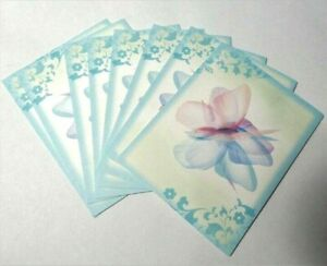 """x8 Blank Notecards Butterfly w/Envelopes Vintage 4"""" x 5"""""""
