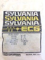 SYLVANIA ECG 5197 ZENER DIODE 10 WATT 22.0 VOLT NEW IN BAG (A290)