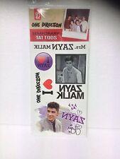 One Direction (1D) Zayn Malik Temporary Tattoos