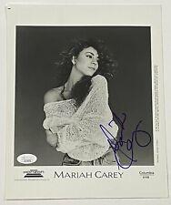 MARIAH CAREY Autograph RARE VINTAGE Signed Promo Photo 8x10 JSA Authentication