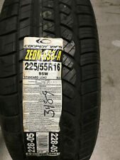 1 New 225 55 16 Cooper Zeon RS3-A Tire