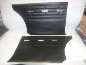 1964 FORD FAIRLANE 500 REAR DOOR PANELS BLACK PUI