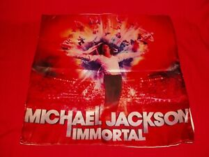 """Michael Jackson """"Immortal"""" Pillow Case  New 15.5"""" by 15.5"""""""