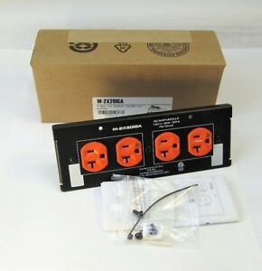 """Middle Atlantic Products M-2X20IGA 8"""" MPR 20A Double Duplex ISO Module New"""