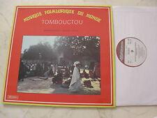 Musique Folklorique Du Monde Tombouctou Vinyle LP