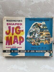 VINTAGE WADDINGTONS JIG MAP NORTHERN EUROPE No 427 complete