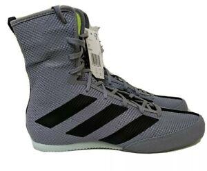 Size 9.5 - Adidas Hog 3 Boxing Shoes EF2976 Grey/Black