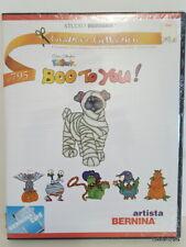 Studio Bernina KidStuff Embroidery Designs Card 795 Boo To You! - Brand New