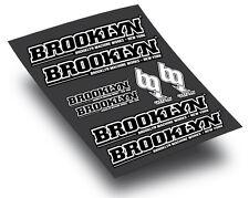 Brooklyn Machine Works style BIKE FRAME STICKERS DECALS