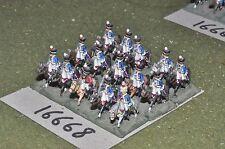15 mm napoléoniennes/British-HUSSARDS 15 Cavalerie-CAV (16668)