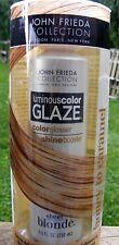 John Frieda LUMINOUS COLOR GLAZE Honey to Caramel Sheer Blonde 6.5oz(192ml)