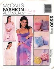 1999 McCall's # 2530 Sewing Pattern: Fashion Accessories Bags