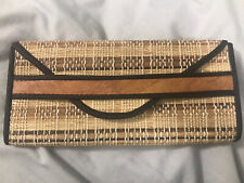 Bamboo Clutch Purse/Bag VINTAGE - PRELOVED GREAT CONDITION