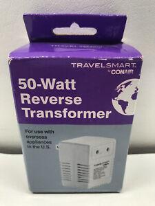 Conair TravelSmart 50-Watt Reverse Transformer